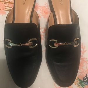 Merona Leatherette Slides